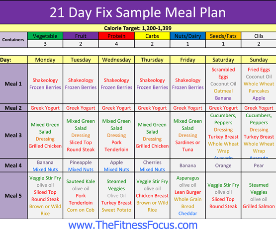 image regarding 21 Day Fix Meal Planner Printable called Your Pattern 21 Working day Maintenance Supper Application, Container Dimensions Grocery