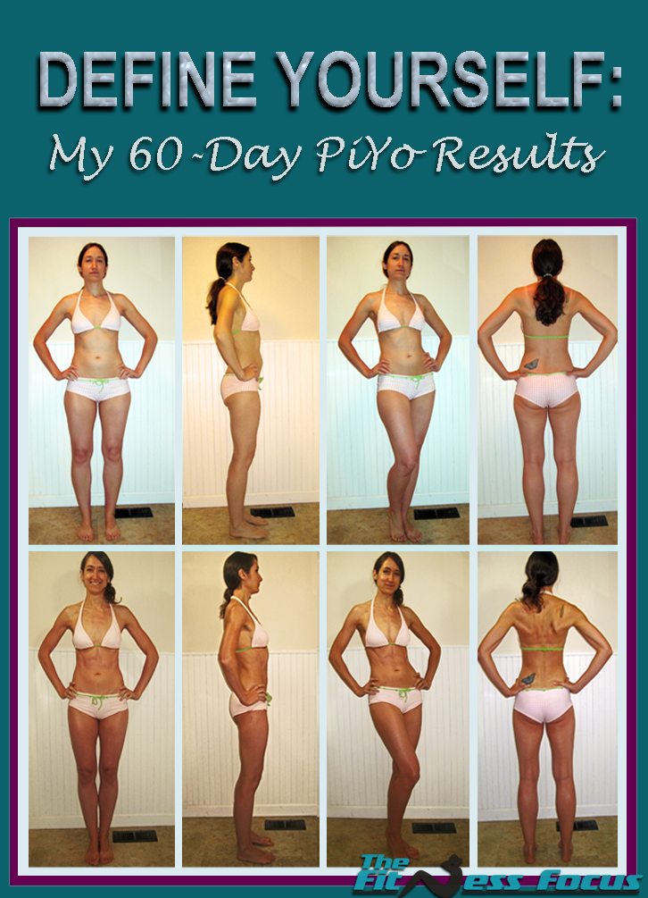 60 Day Before & After Piyo Pictures. thefitnessfocus.com