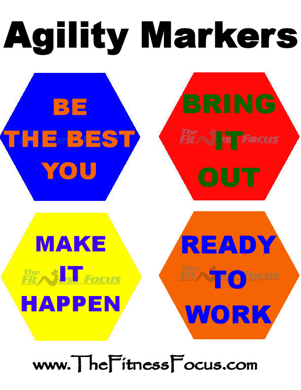 Free Downloadable Agility Markers Perfect For Workouts Like Shift Shop
