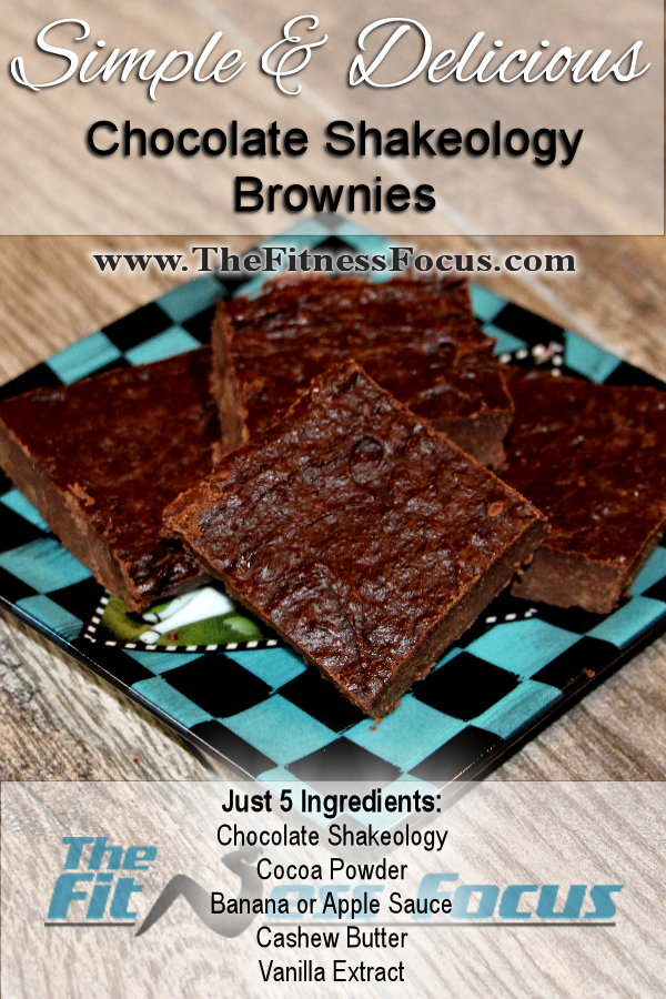 shakeology brownies