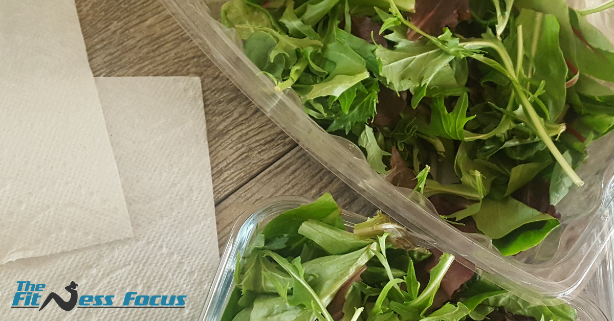 Store Salad Greens With Paper Towels