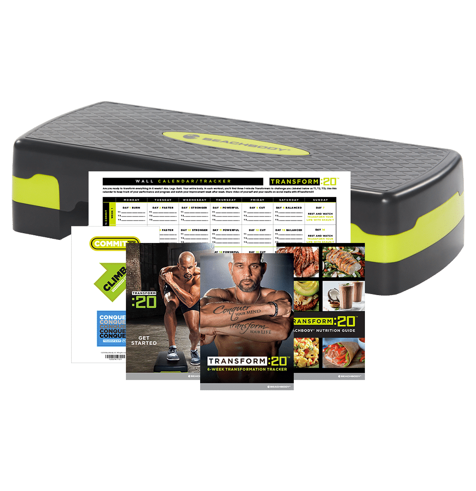First Look at Shaun T's Transform :20 Step Workout - The